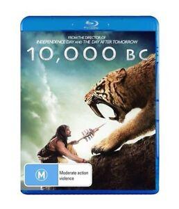10,000 BC (Blu-ray, 2008) Marco Khan, Joel Virgel, Cliff Curtis, Camilla Belle