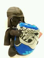 Star Wars Blanket Darth Vader Character Plush Home Throw Bedding Hugger Set