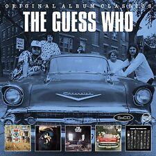 The Guess Who-ORIGINAL ALBUM CLASSICS 5 CD NUOVO