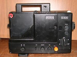 PROJECTEUR SUPER 8 SONORE EUMIG S905