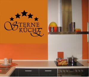 Wandtattoo- - 5 Sterne Küche - Kochen - Esszimmer - Küche - Fünf Sterne