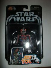 Rare Star Wars Star Tours Disney G3-5LE figure moc carded