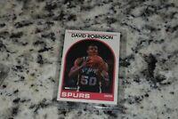 1989-90 NBA Hoops David Robinson #310 Rookie HOF