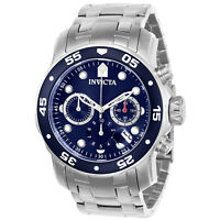 Invicta Men's Pro Diver 21921 Silver Stainless-Steel Plated Quartz Dress Watch