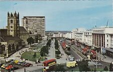 Royal Parade & Old Cars & Buses, PLYMOUTH, Devon
