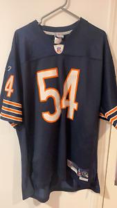 Vintage Reebok Brian Urlacher #54 Chicago Bears Mens L NFL Football Jersey Sewn