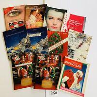 1988 Vintage Avon Catalog Campaign Books Lot of 11