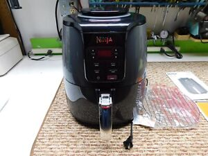 Ninja Air Fryer 4qt   Black/Grey AF101