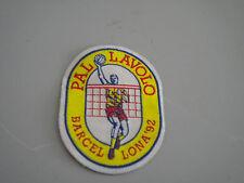 Toppa patch tessuto Olimpiadi Barcellona 1992 PALLAVOLO