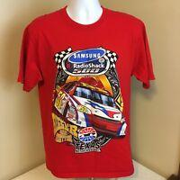 Fruit of the Loom T-Shirt Radioshack 500 Texas Motor Speedway Red Large NASCAR