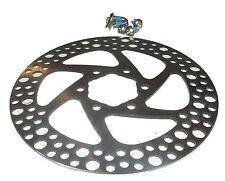 MTB, BICICLETTA disco del freno, 140mm, 6 fori, DISC BRAKE, incl. viti, Nuovo