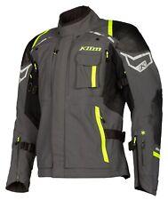 Klim Kodiak Redesign Gr. 52 Gore Tex Motorradjacke mit Daunenjacke grau gelb