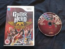 GUITAR HERO AEROSMITH Nintendo Wii Game