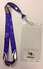 Baltimore Ravens Promotional Lanyard Ravens Together Flock Promo