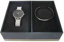 Daniel Wellington Set DW00100162 Armreif L Classic Petite Sterling 32MM