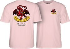 Powell Peralta Steve Caballero RED DRAGON II Skateboard Shirt LIGHT PINK XXL