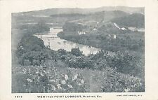 READING PA – View from Point Lookout – udb (pre 1908)