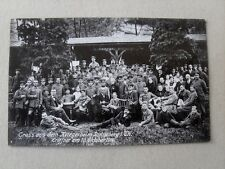 Sonneberg Gruss aus dem Kriegerheim Eröffnet Okt. 1914 Militaria Lazarett