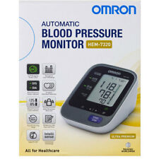 OMRON HEM 7320 ULTRA PREMIUM UPPER-ARM BLOOD PRESSURE MONITOR 5 YR AU WARRANTY
