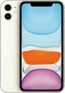 Apple iPhone 11 64GB Fully Unlocked (GSM+CDMA) AT&T T-Mobile Verizon White