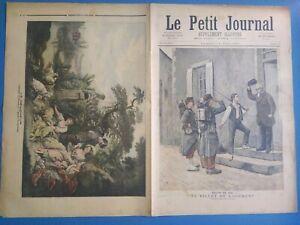 Le Petit Journal 14 Mai 1892 N°77 Billet de logement/Le Dénicheur Musée Louvre
