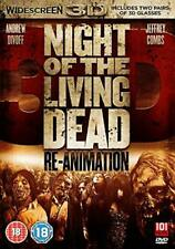 Night Of The Living Dead Re-Animation 3D (DVD, 2012) FREE SHIPPING