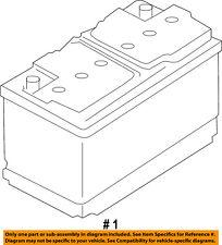 FORD OEM-Battery BXT40R