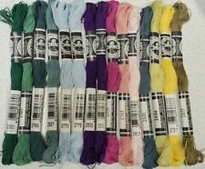 15 Dmc Flower Thread Coton Embroidery Floss 13 Different Skeins Cotton B