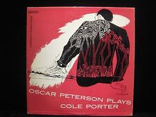 Oscar Peterson Oscar Peterson Plays Cole Porter Clef Records MGC-603 Vinyl LP