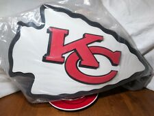 Official Nfl Kansas City Chiefs Fan Foam 3D Foam Wall Sign * Brand New In Bag*