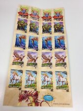 Mythical Creatures Postage Stamps New 20 x 60c, $12.00, Free Postage