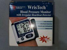 WrisTech Blood Pressure Monitor w/ Irregular Heartbeat Detector Wrist Strap
