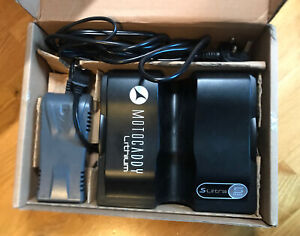 Motocaddy S-Ultra Series Lithium Battery & Charger, 36 hole, 1 year old