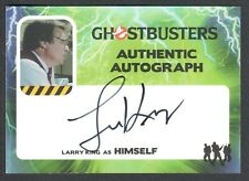 GHOSTBUSTERS (Cryptozoic 2016) AUTOGRAPH CARD #LK LARRY KING CNN RADIO HOST