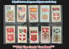 PLAYER'S - COUNTRIES ARMS & FLAGS 1905  (THIN) (G/F) *PLEASE SELECT CARD*