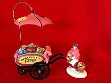 Dept 56 Heritage Village Collection Popcorn Vendor (set of 2) 58157 Christmas