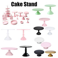 8/10/12Inch Iron Round Cake Stand Pedestal Dessert Holder Birthday Wedding Party