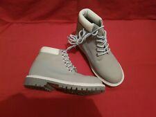 Womens Baby Blue Boots Shoes uk 4 Eu 37