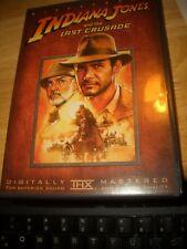 New listing Indiana Jones Dvd The Last Crusade-Widescreen-1989