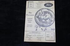 1949/50 Stroudsburg High School Baseball scorecard. The Poconos Gordon Giffels