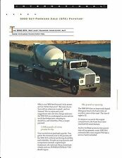 Truck Brochure - International 5000 SFA Paystar Set-Forward Axle Cement (T1848)