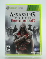 Assassin's Creed Brotherhood Xbox 360 Game Tested Free Shipping
