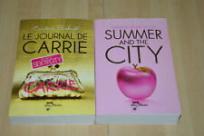lot 2 livres Avant Sex and the City : Summer City, Journal de Carrie -C Bushnell
