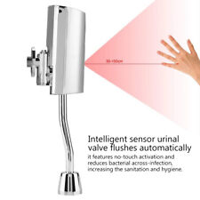 Fully-automatic Bathroom Toliet Wall Mount Sensor Touchless Urinal Flush Valve 5