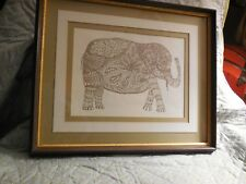 Ink / pencil drawing signed, framed, limited edition 37/100