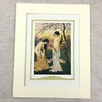 1920 Vintage Erotica Print Young Nude Girl Naked Girls Dressing Naughty Art