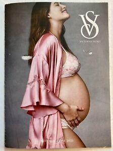 Pregnant Model Victorias Secret Lingerie Photo Vintage Print Ad Current 2021