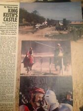 Ephemera 1981 Article Keith Ryall Medieval Castle  M484
