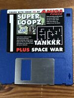 Amiga Power Magazine cover disk 48 Super Loopz Tankkk Space War TESTED WORKING