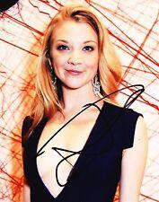 Natalie Dormer Autographed 8x10 Photo (Reproduction) 2